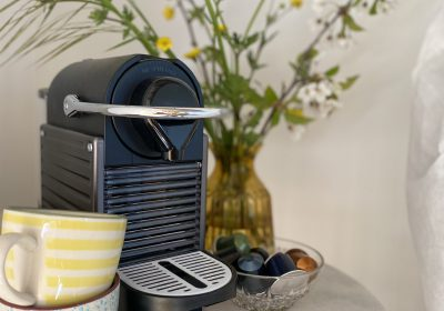 Your stay includes some cups of Nespresso coffee.